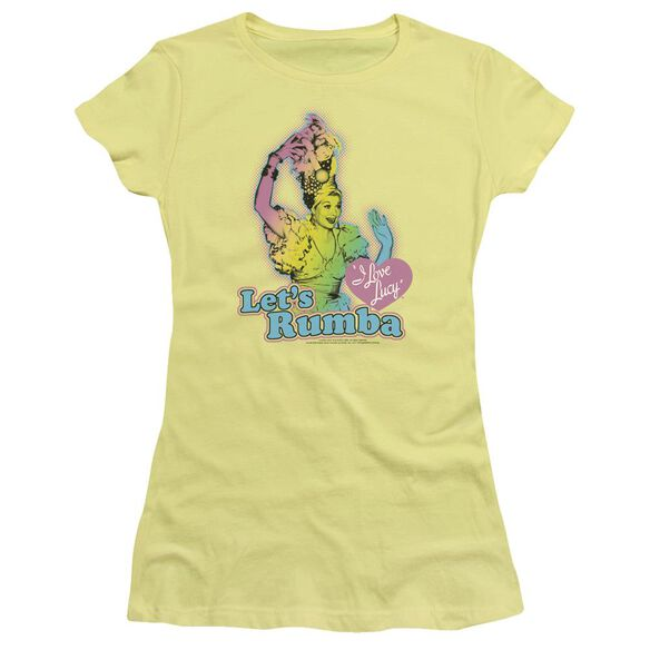I Love Lucy Let's Rumba Short Sleeve Junior Sheer T-Shirt