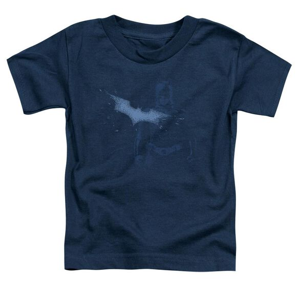 Dark Knight Static Short Sleeve Toddler Tee Navy T-Shirt