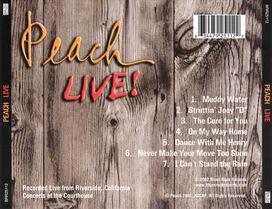 Peach - Peach Live