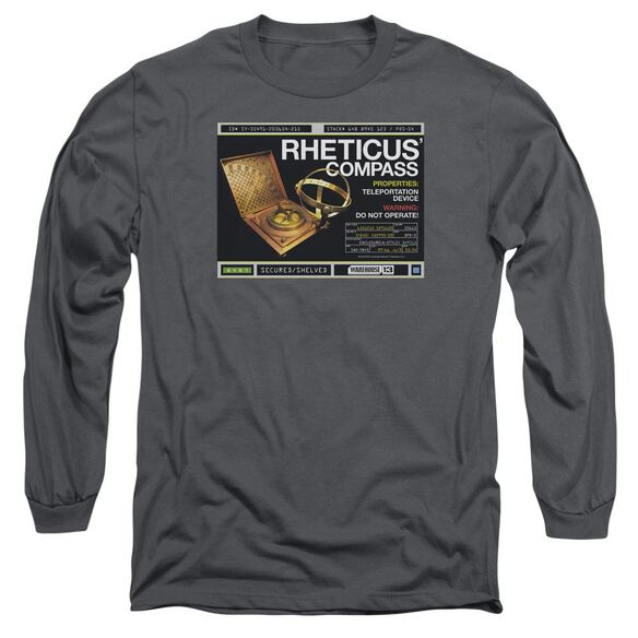 Warehouse 13 Rheticus Compass Long Sleeve Adult T-Shirt