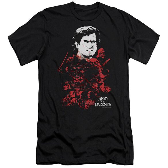 Army Of Darkness Pile Of Baddies Short Sleeve Adult T-Shirt