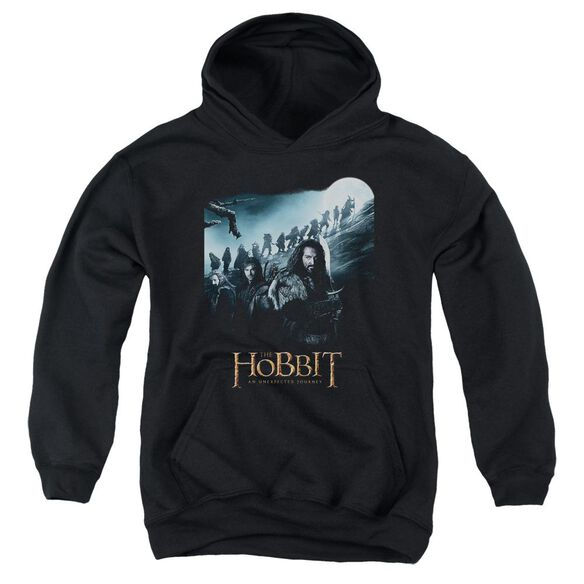 The Hobbit A Journey Youth Pull Over Hoodie