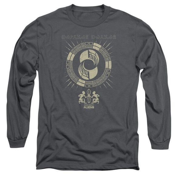 Ancient Aliens Glyphs Long Sleeve Adult T-Shirt