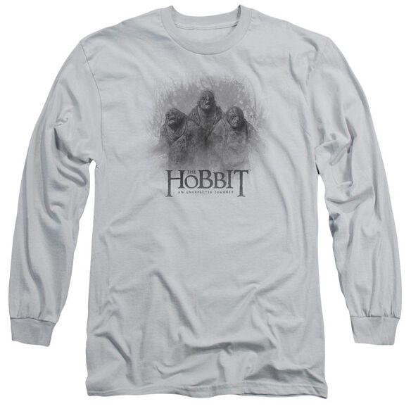 The Hobbit Three Trolls Long Sleeve Adult T-Shirt