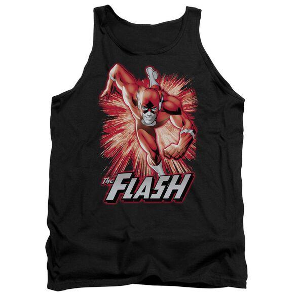 Jla Flash Red & Gray Adult Tank