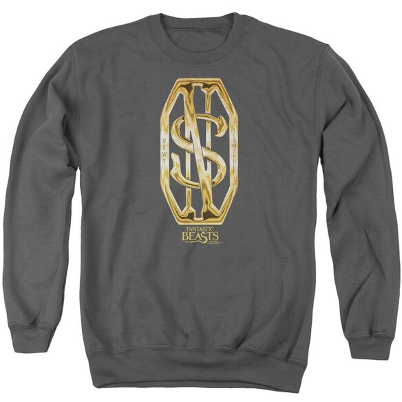 Fantastic Beasts Scamander Monogram Adult Crewneck Sweatshirt
