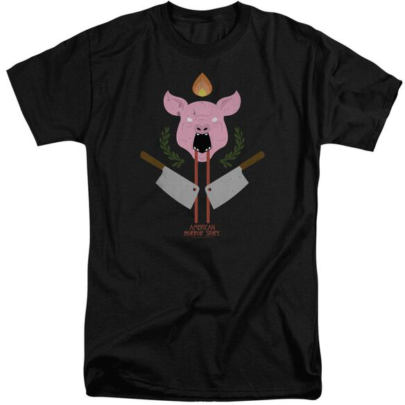 American Horror Story Pig Cleavers Short Sleeve Adult Tall T-Shirt