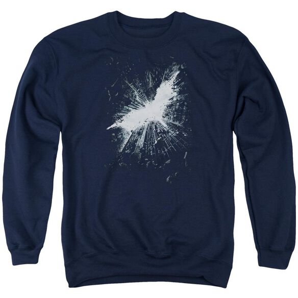 Dark Knight Rises Teaser Poster Adult Crewneck Sweatshirt