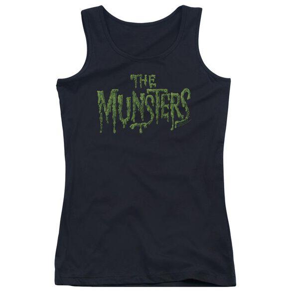The Munsters Distress Logo Juniors Tank Top