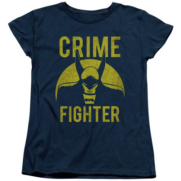 Dc Fight Crime Short Sleeve Womens Tee T-Shirt