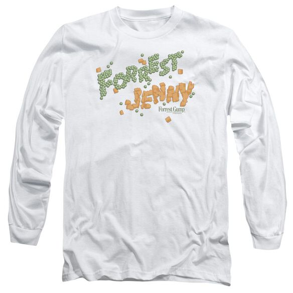 Forrest Gump Peas And Carrots Long Sleeve Adult T-Shirt