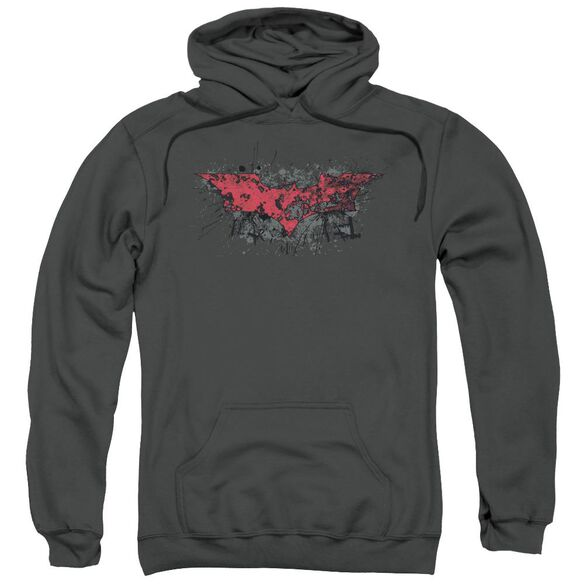 Dark Knight Rises Fear Logo Adult Pull Over Hoodie