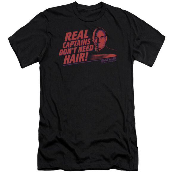 Star Trek Real Captain Short Sleeve Adult T-Shirt