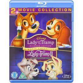 Lady and the Tramp 1 & 2 [Blu-ray]