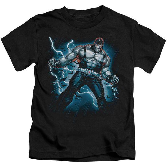 Batman Stormy Bane Short Sleeve Juvenile Black T-Shirt