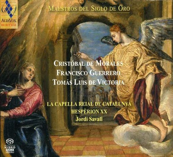 La Capella Reial De Catalunya & Jordi Savall - Masters from the Golden Century: Sacred Music By