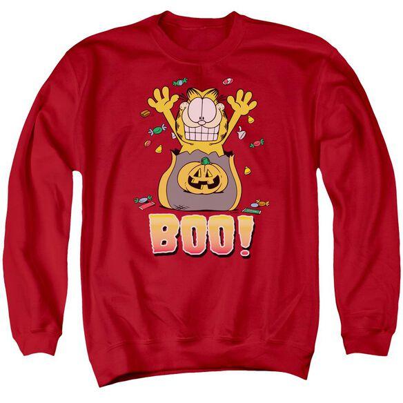 Garfield Boo! Adult Crewneck Sweatshirt