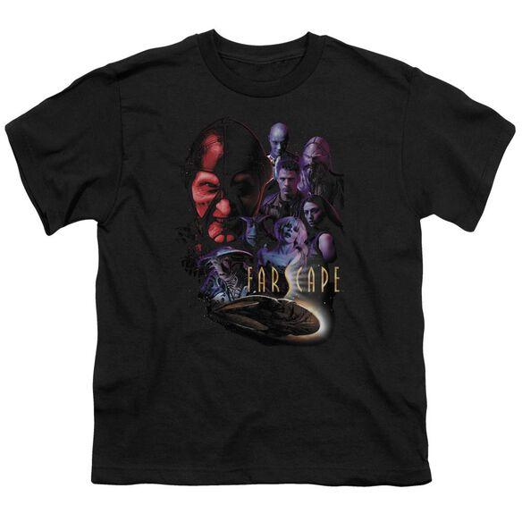 FARSCAPE CRIMINALLY EPIC - S/S YOUTH 18/1 - BLACK T-Shirt