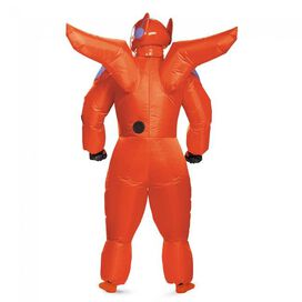 Big Hero 6 Red Baymax Inflatable Adult Costume