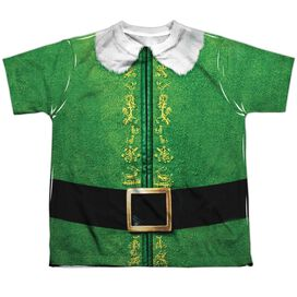 Elf Buddy Costume Short Sleeve Youth Poly Crew T-Shirt