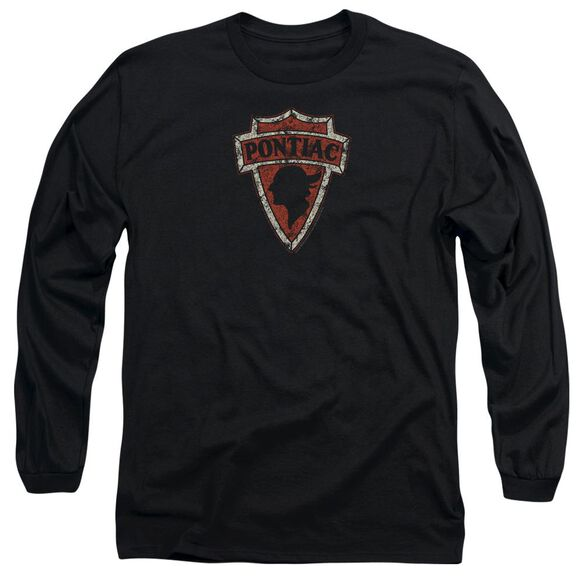Pontiac Early Pontiac Arrowhead Long Sleeve Adult T-Shirt