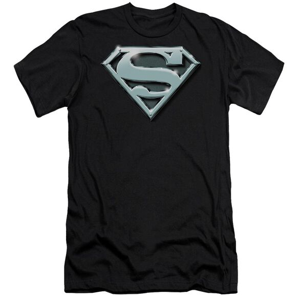 Superman Chrome Shield Premuim Canvas Adult Slim Fit