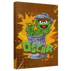Sesame Street Oscar Quickpro Artwrap Back Board