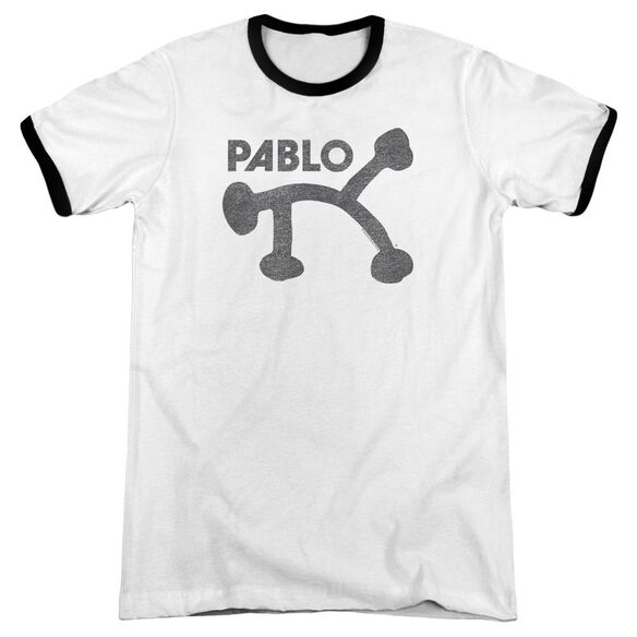 Pablo Retro Pablo Adult Ringer White Black
