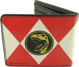 Power Rangers Red Uniform Wallet