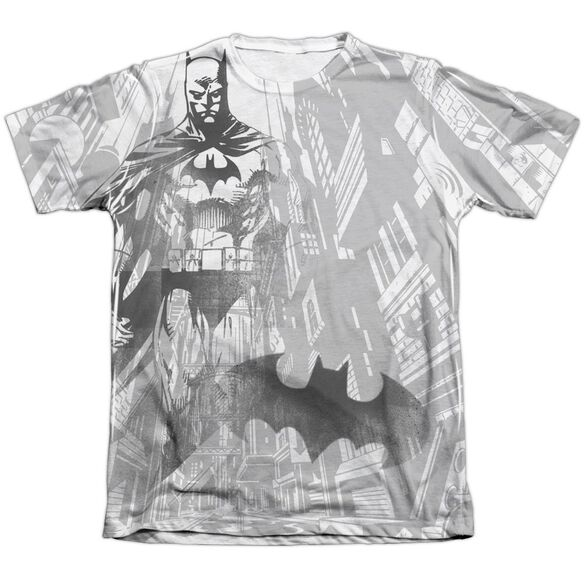 Batman Vigilance Adult Poly Cotton Short Sleeve Tee T-Shirt