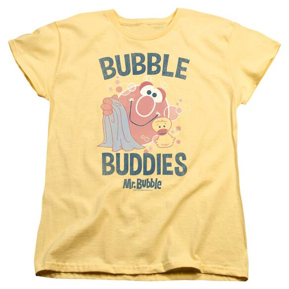 Mr Bubble Bubble Buddies Short Sleeve Women's Tee T-Shirt