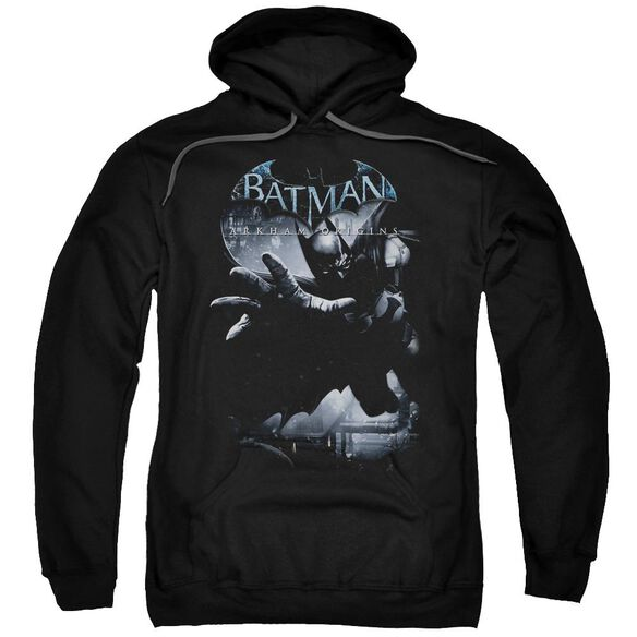 Batman Arkham Origins Out Of The Shadows Adult Pull Over Hoodie