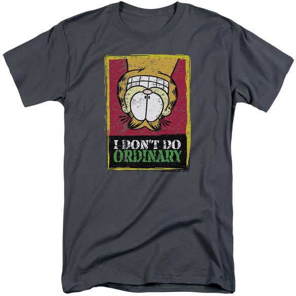 Garfield I Don't Do Ordinary Short Sleeve Adult Tall T-Shirt
