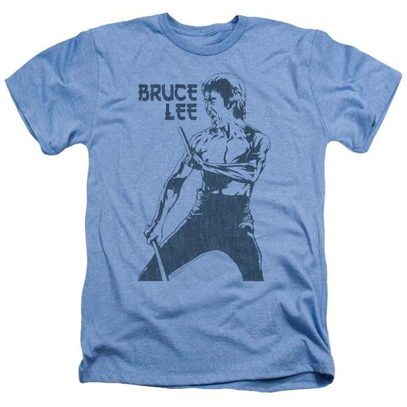 Bruce Lee Fighter Adult Heather Light