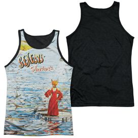 Genesis Foxtrot Cover Adult Poly Tank Top Black Back