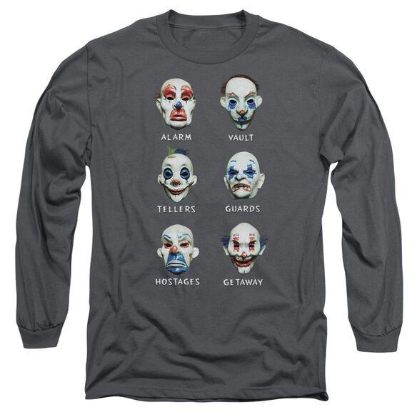 Dark Knight Goon Masks Long Sleeve Adult T-Shirt