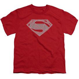 Batman V Superman Techy S Short Sleeve Youth T-Shirt