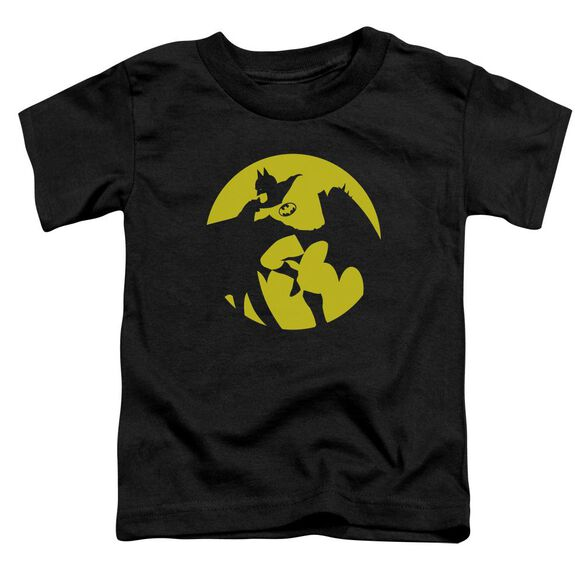 Dco Batman Spotlight Short Sleeve Toddler Tee Black T-Shirt