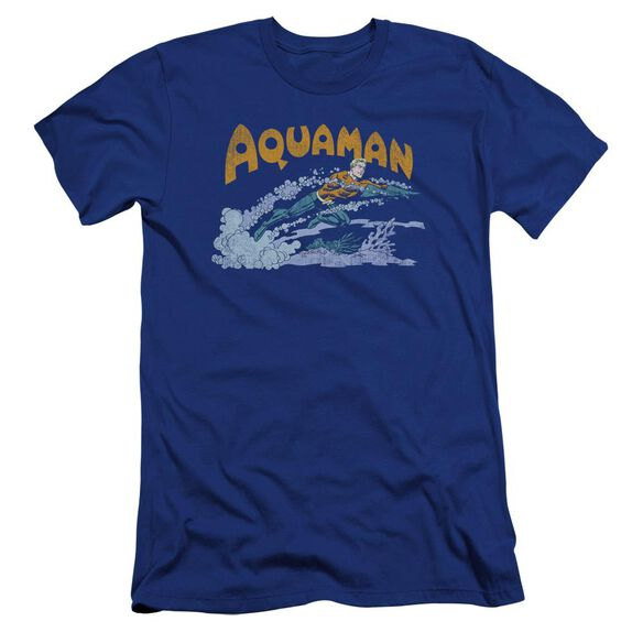Dc Aqua Swim Premuim Canvas Adult Slim Fit Royal