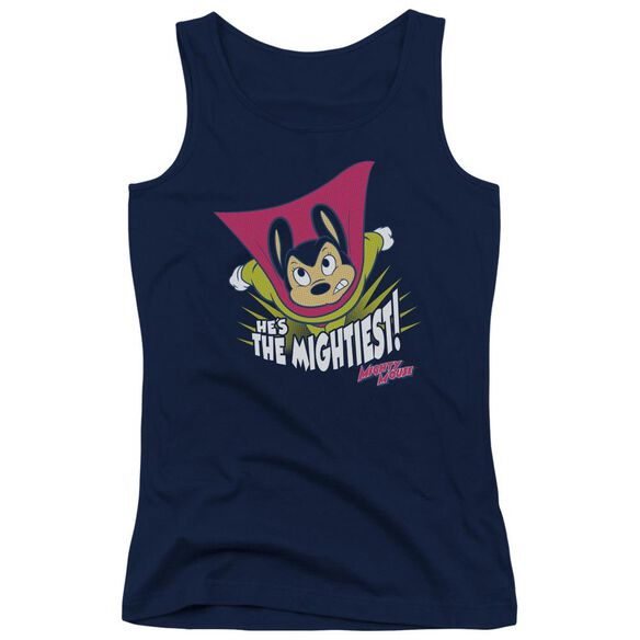 Mighty Mouse The Mightiest-juniors Tank Top