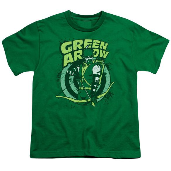 Dc On Target Short Sleeve Youth Kelly T-Shirt