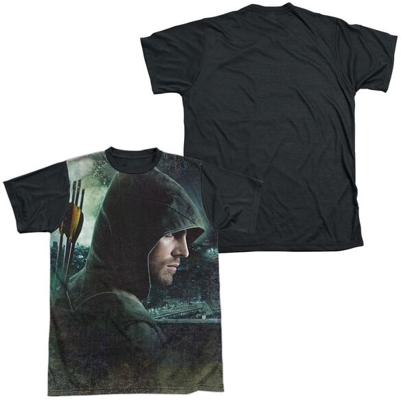 Arrow Hero Short Sleeve Adult Front Black Back T-Shirt