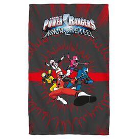 Power Rangers Ninja Team Towel White