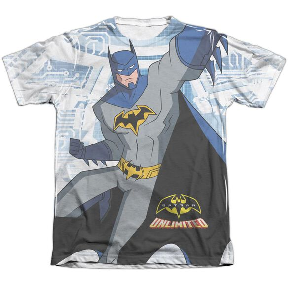 Batman Unlimited Tech Cave Adult Poly Cotton Short Sleeve Tee T-Shirt