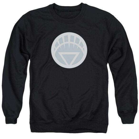 Green Lantern White Symbol Adult Crewneck Sweatshirt