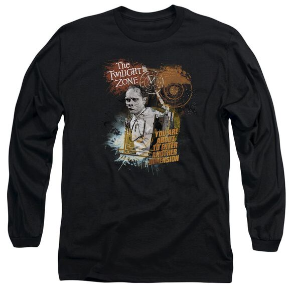 Twilight Zone Enter At Own Risk Long Sleeve Adult T-Shirt