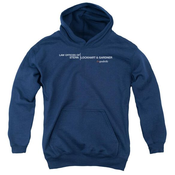 The Good Wife Law Offices Youth Pull Over Hoodie