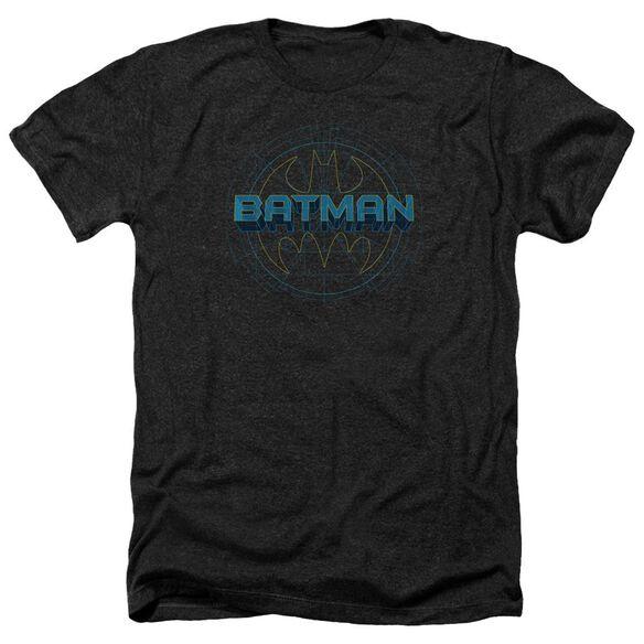Batman Bat Tech Logo Adult Heather