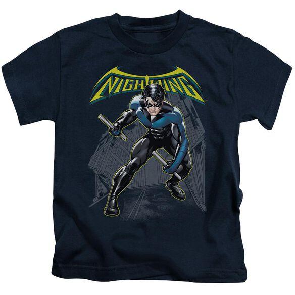 BATMAN NIGHTWING - S/S JUVENILE 18/1 - NAVY - T-Shirt
