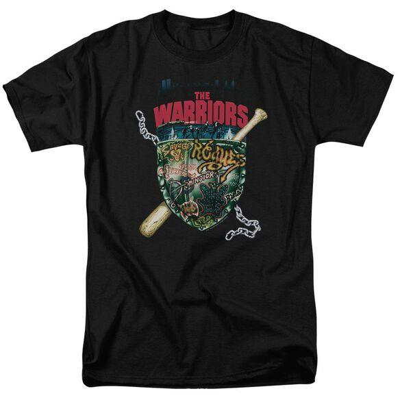 Warriors Shield Short Sleeve Adult T-Shirt